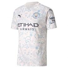 Третья игровая футболка Манчестер Сити 2020-2021