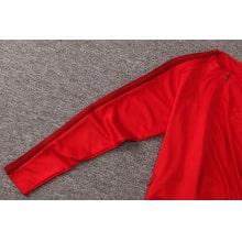 Красный спортивный костюм Бавария 2021-2022 рукав