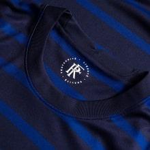 Домашняя футболка Франции ЕВРО 20-21 длинные рукава воротник