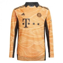 Вратарская оранжевая футбольная форма Бавария 2021-2022 футболка