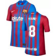 Домашняя футболка Барселоны 2021-2022 Пьянич