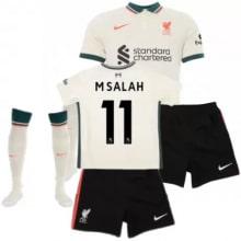 Детская гостевая футбольная форма Салах 2021-2022