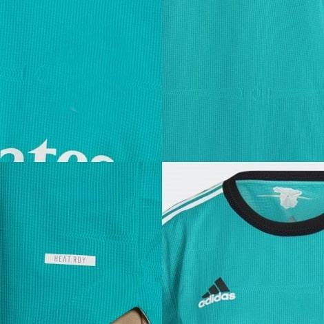 Взрослый комплект третьей формы Реал Мадрид 2021-2022 футболка логотипы
