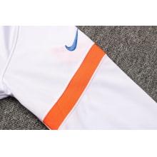Бело-синий тренировочный костюм Челси 2021-2022 рукав