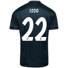 Гостевая футболка Реал Мадрид 2018-2019 Иско номер 22