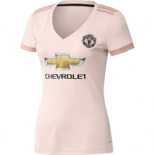 Женская гостевая футболка Манчесетр Юнайтед 2018-2019