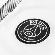 Футболка взрослой гостевой формы ПСЖ 2018-2019 JORDAN герб клуба