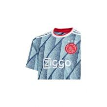 Комплект взрослой гостевой формы АЯКС 2020-2021 футболка вблизи