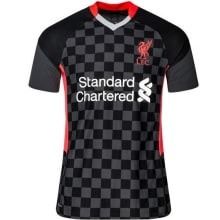 Третья аутентичная футболка Ливерпуля 2020-2021