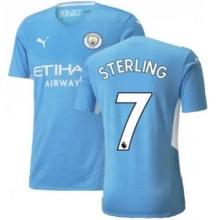Домашняя футболка Манчестер Сити 21-22 Рахим Стерлинг