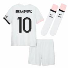 Детская гостевая футбольная форма Ибрагимович 2021-2022