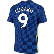 Домашняя игровая футболка Челси Ромелу Лукаку 2021-2022
