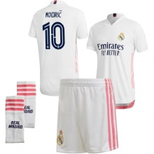 Детская домашняя футбольная форма Лука Модрич 2020-2021
