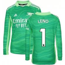 Вратарская футболка Арсенала с длинными рукавами Лено 21-22