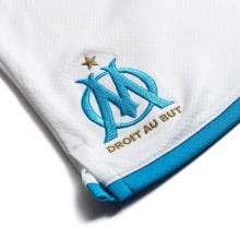 Комплект взрослой домашней формы Марселя 2019-2020 шорты герб клуба
