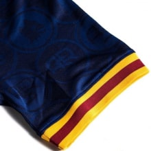 Комплект детской третьей формы Ромы 2019-2020 футболка рукав
