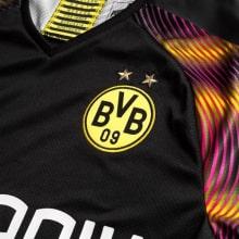 Вратарская гостевая футболка Боруссии Дортмунд 2019-2020 герб клуба
