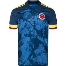 Гостевая игровая футболка сборной Колумбии 2020-2021