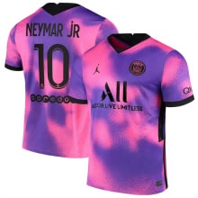 Детская четвертая футбольная форма Неймар 2020-2021 футболка