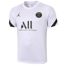 Белая пре матчевая футболка ПСЖ 20-21