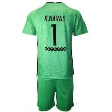 Вратарская зеленая футбольная форма Кейлор Навас 2020-2021