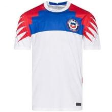 Гостевая игровая футболка сборной Чили 2020-2021