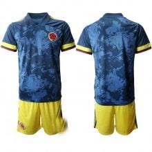 Детская гостевая футбольная форма Колумбии 2020-2021
