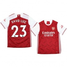 Домашняя футболка Арсенала Давид Луис 2020-2021