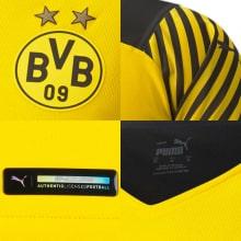 Домашняя футболка Боруссии Дортмунд 2021-2022 Марко Ройс логотипы