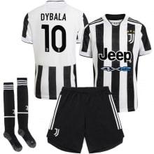 Детская домашняя футбольная форма Дибала 2021-2022