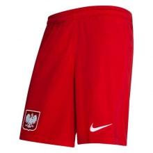 Гостевой комплект детской формы Польши на ЕВРО 2020-21 шорты Левандовски