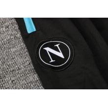 Черно-голубой спортинвый костюм Наполи 2021-2022 герб клуба