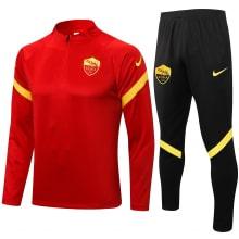 Красно-черный костюм Ромы 2021-2022