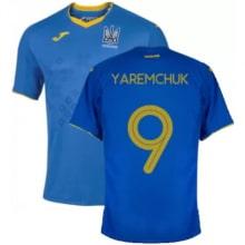 Гостевая футболка Украины Яремчук на ЕВРО 2020-21