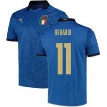 Домашняя футболка Италии Берарди на ЕВРО 2020-21