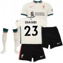 Детская гостевая футбольная форма Шакири 2021-2022
