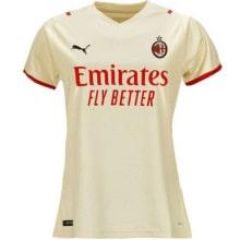 Гостевая женская футболка Милан 2021-2022