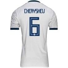 Гостевая футболка сборной России Денис Черышев ЧМ 2018
