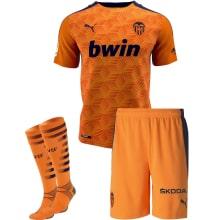 Детская гостевая футбольная форма Черышев 2020-2021 футболка шорты и гетры