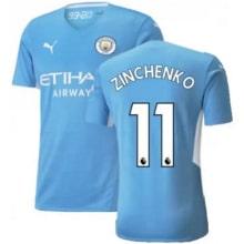 Домашняя футболка Манчестер Сити 21-22 Зинченко