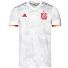 Взрослый комплект гостевой формы Реал Мадрид 2019-2020 футболка воротник