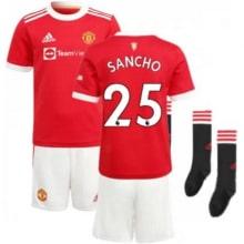 Детская домашняя футбольная форма Санчо 2021-2022
