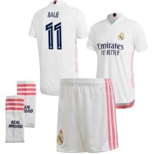 Детская домашняя футбольная форма Гарет Бейл 2020-2021