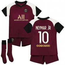 Детская третья футбольная форма Неймар 2020-2021