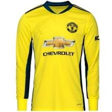 Вратарская гостевая футболка Манчестер Юнайтед 2020-2021