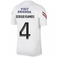 Белая тренировочная футболка SERGIO RAMOS ПСЖ 2021-2022