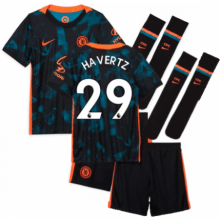 Детская третья форма Челси Кай Хаверц 2021-2022