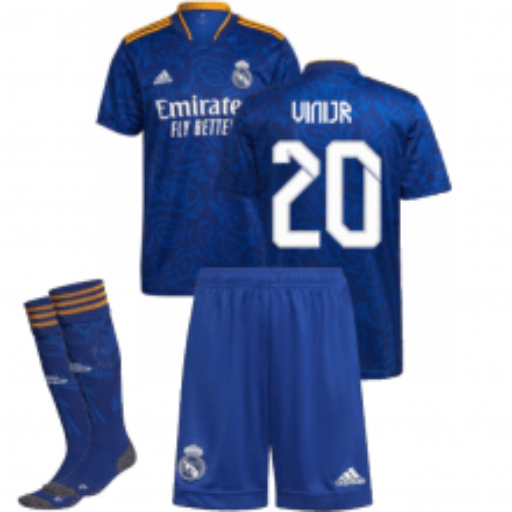 Детская гостевая форма Реал Мадрид 2021-2022 Винисиус