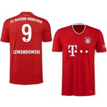 Домашняя футболка Баварии 2020-2021 Роберт Левандовски