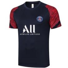 Синяя пре матчевая футболка ПСЖ 20-21